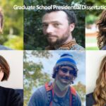 pictures of the 2021 Graduate School Presidential Dissertation Fellows