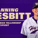 Channing Nesbitt in Husky baseball uniform