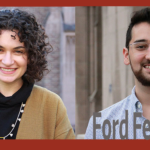 Profile pictures of Ford fellows Colleen O'Connor and Jorge Cisneros