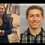 profile pictures of 2021 Gatzert fellows Shixin Huang and Michael Rosenberg